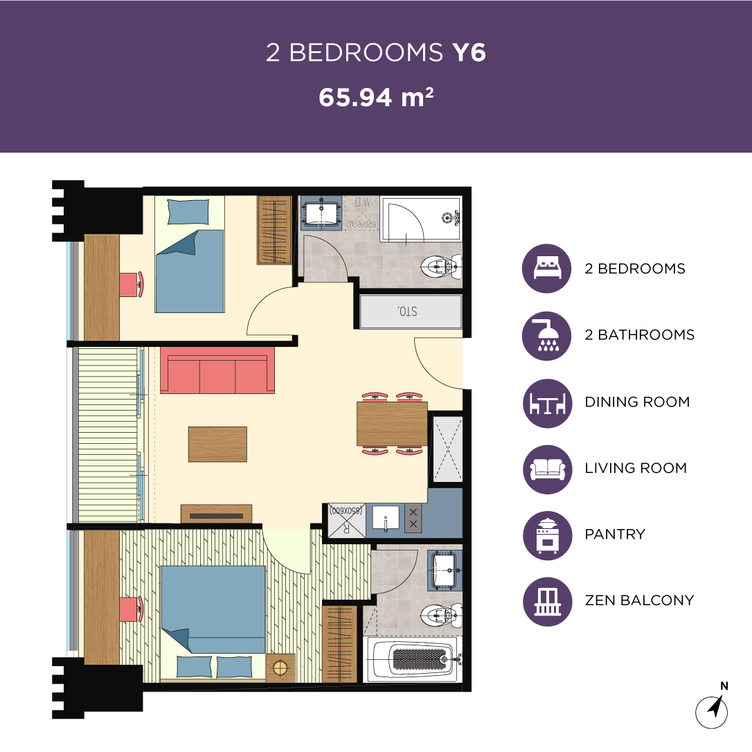 Glend-2bedrooms-type-Y6