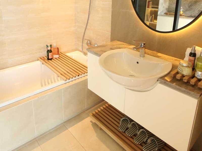 Zen Bathroom Irvine Suites