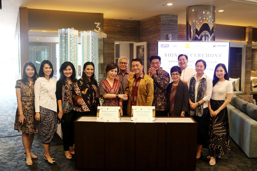 Signing Ceremony with Savills – Orange County Mall