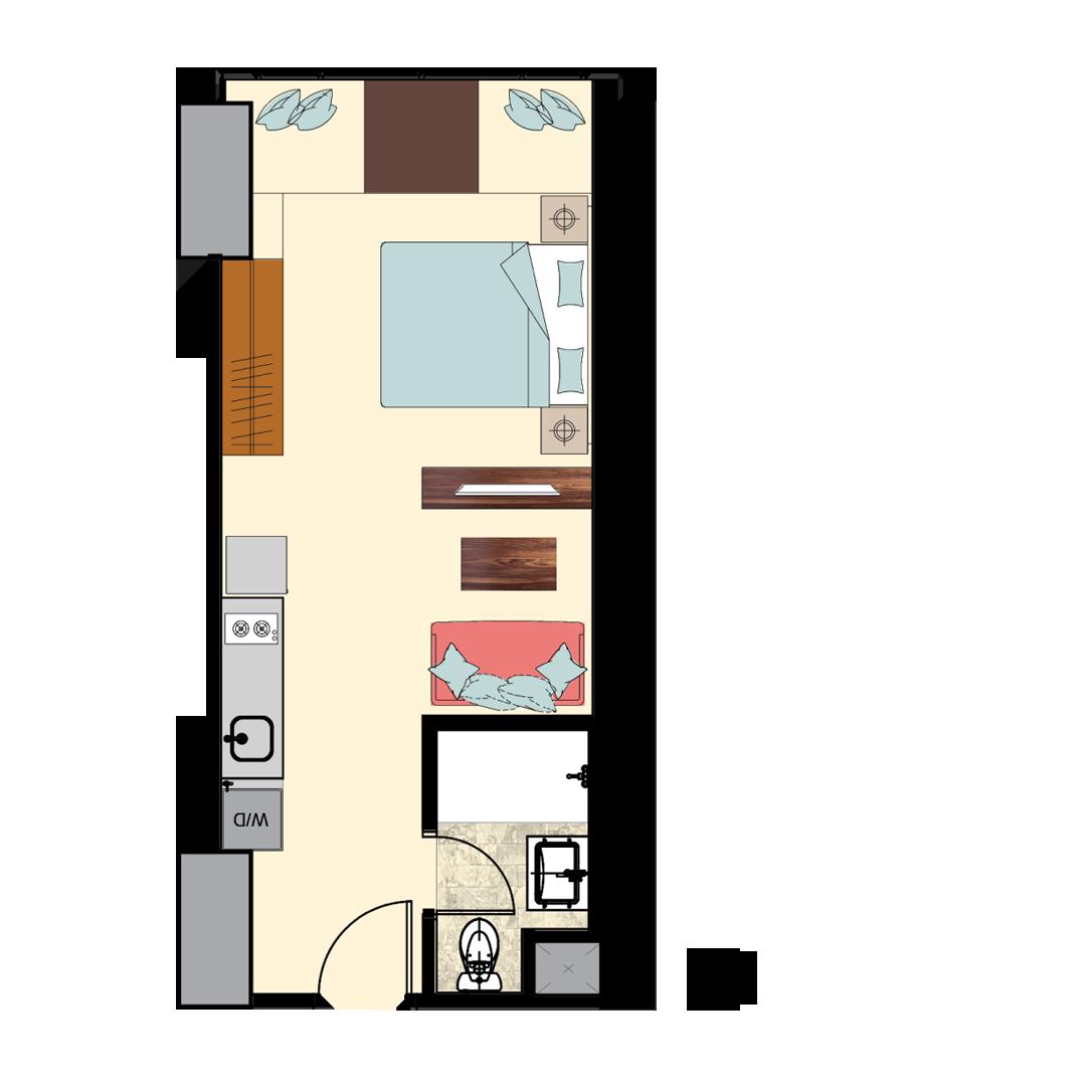Irv-1-Bedroom-I-1H-N1-N3-FL-2
