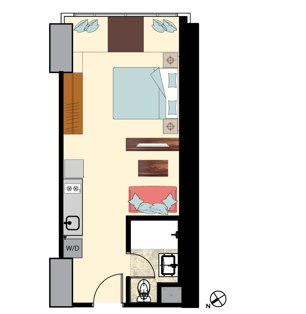 Irv-1-Bedroom-S-1H-N8-FL