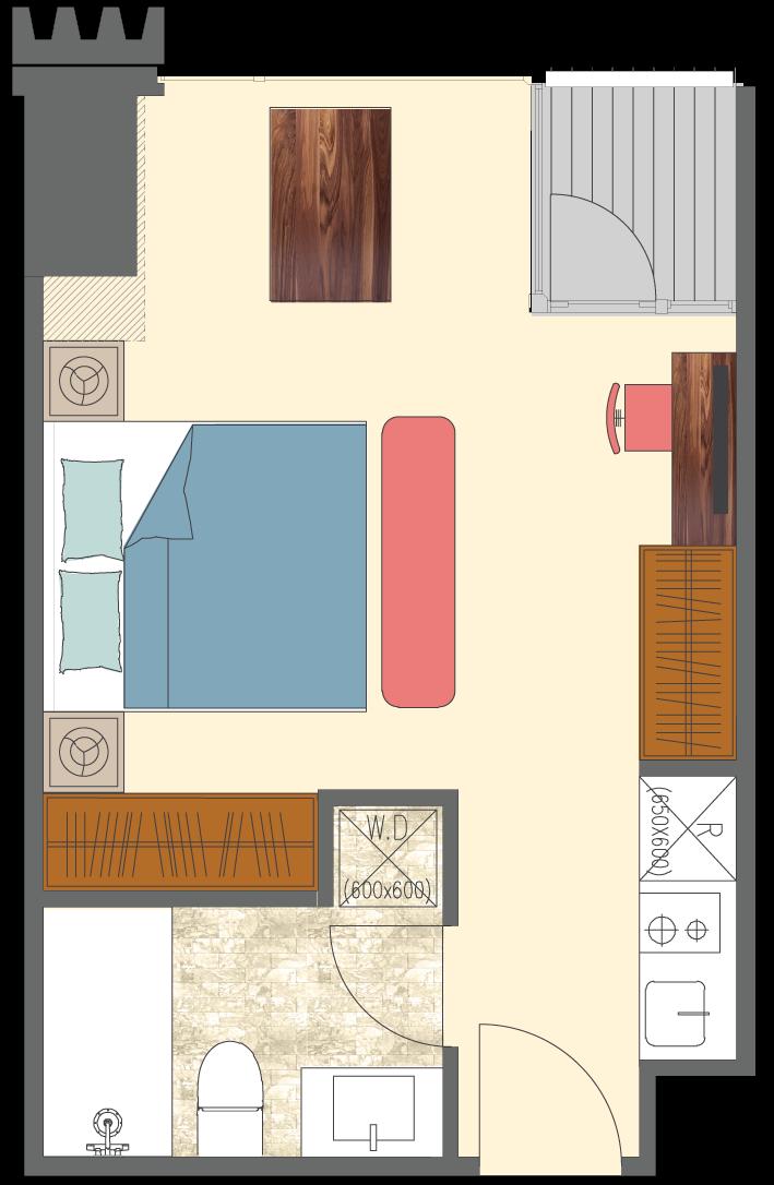 Newport-1-bedroom-D2-floorplan-only