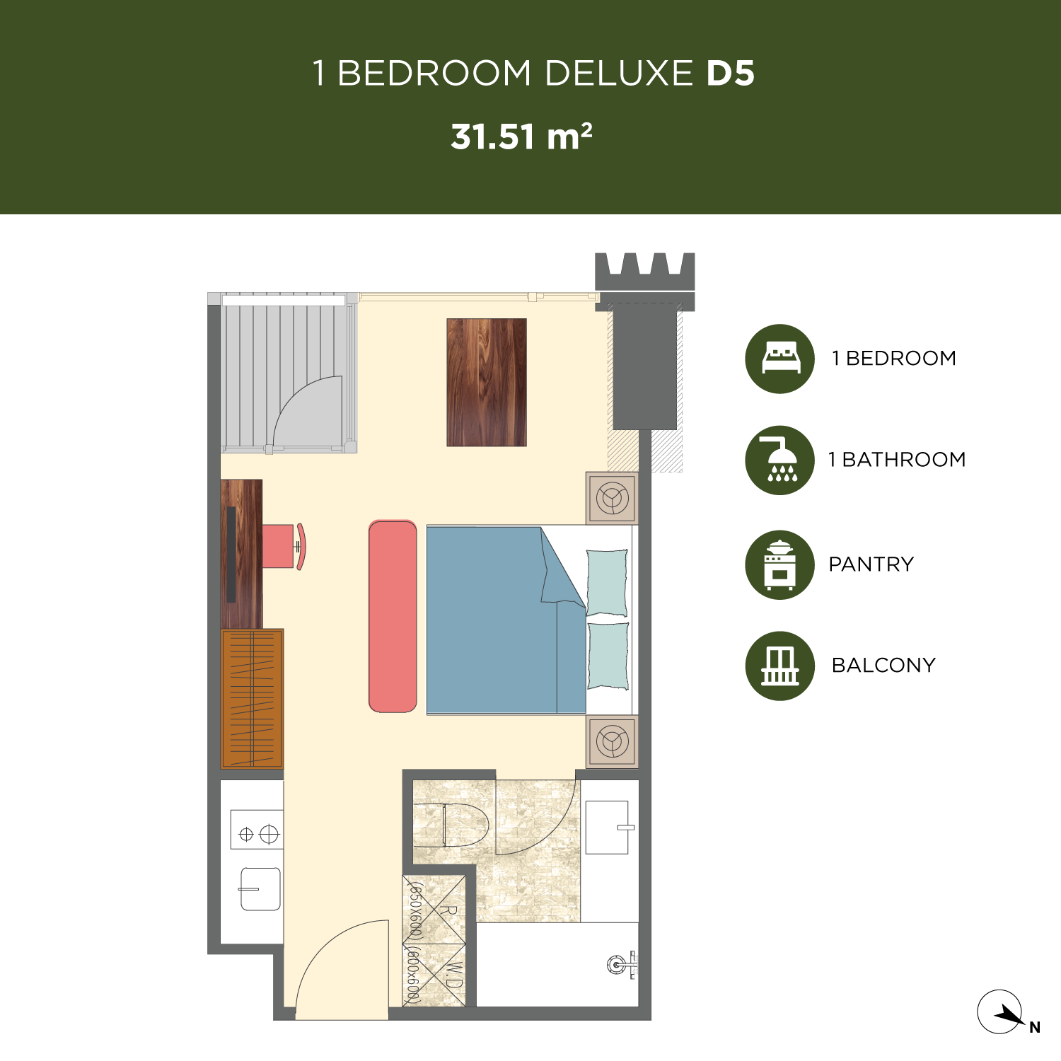 Newport-1-bedroom-D5