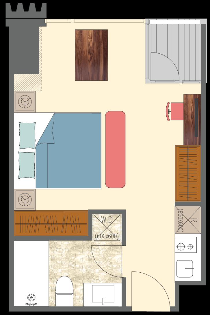 Newport-1-bedroom-D6-floorplan-only