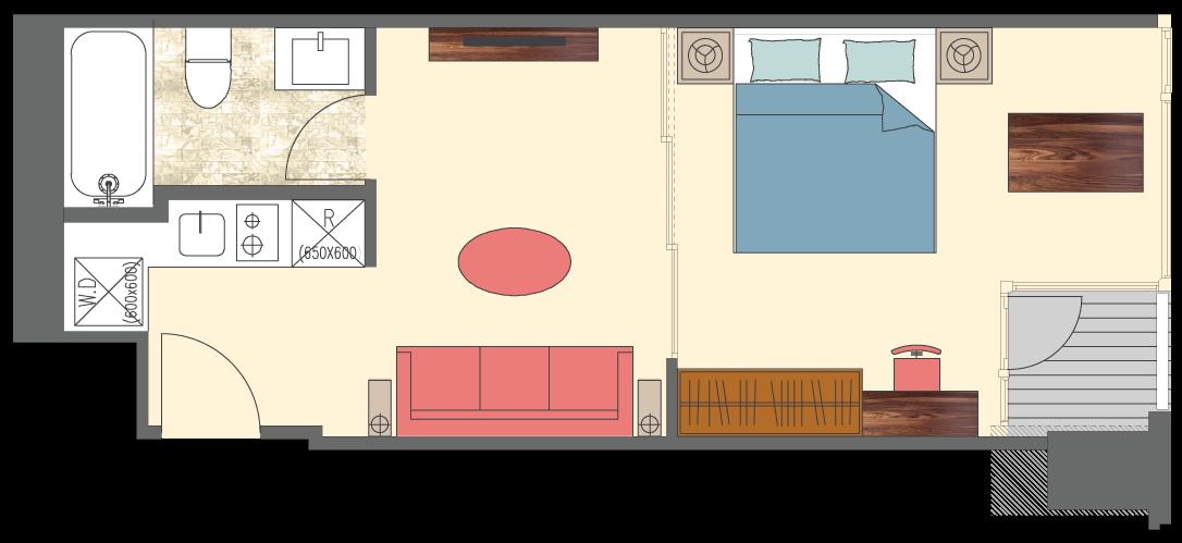 Newport-1-bedroom-P1-floorplan-only