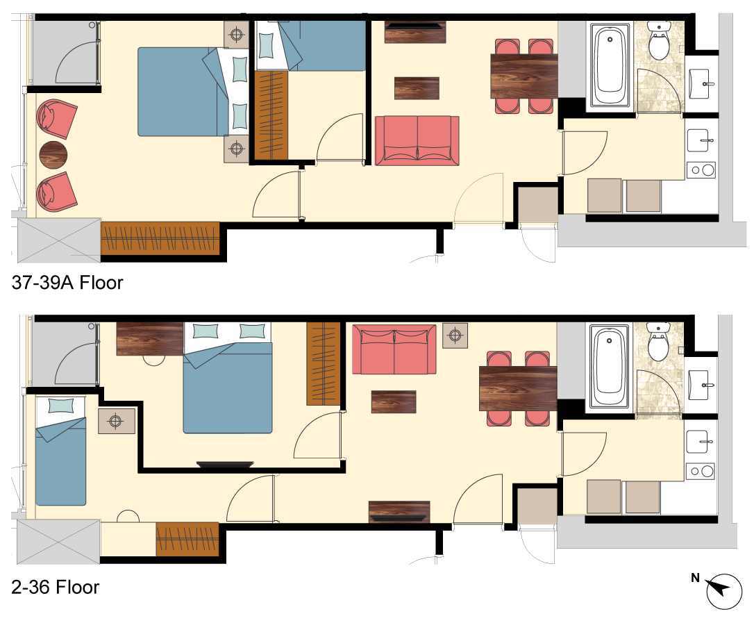 Newport-2-bedrooms-B6-floorplan-only
