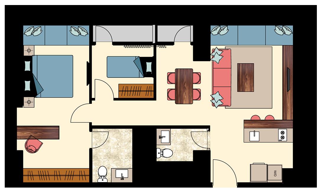 Pasadena-2-bedrooms-N3-floorplan