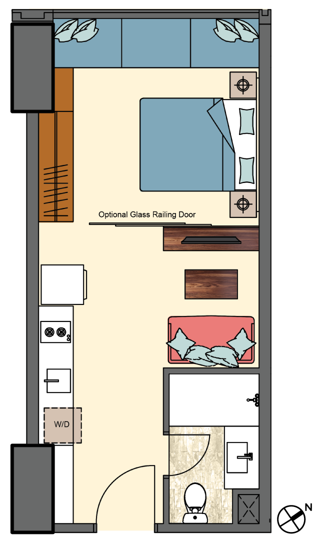 West-1bedroom-type-A2,A3,A5-floorplan-only